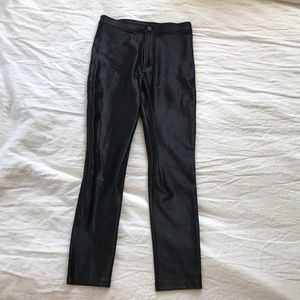 American Apparel Black Disco Pants.